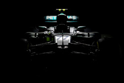 La voiture de Valtteri Bottas, Mercedes AMG F1 W08
