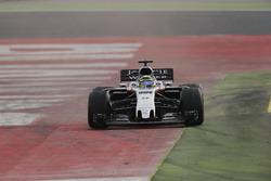 Sergio Perez, Force India VJM10, runs wide
