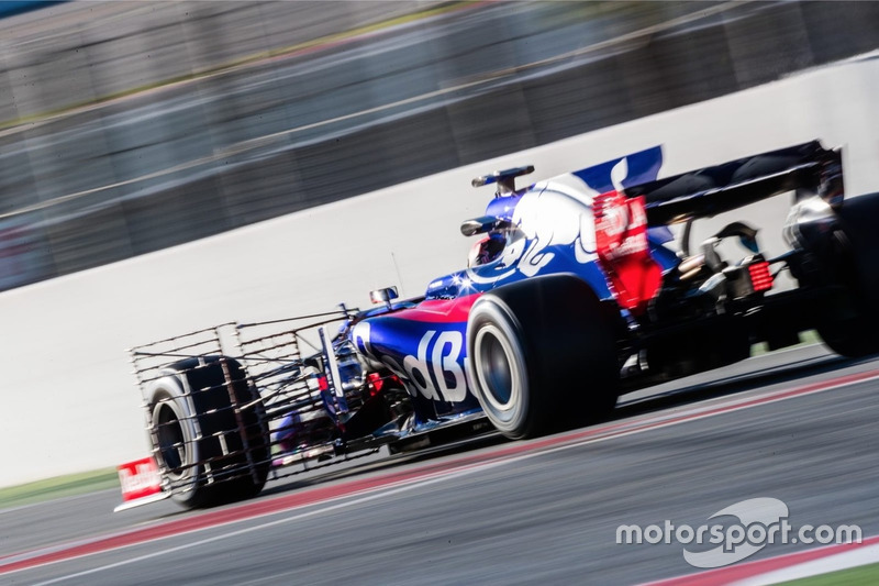 Daniil Kvyat, Scuderia Toro Rosso STR12 funcionamiento equipo de sensor
