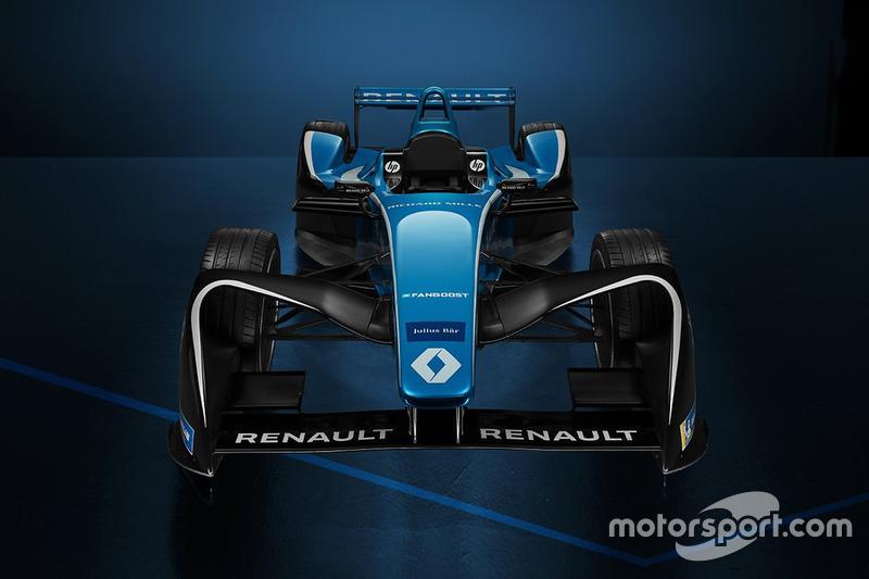 New Renault e.Dams livery