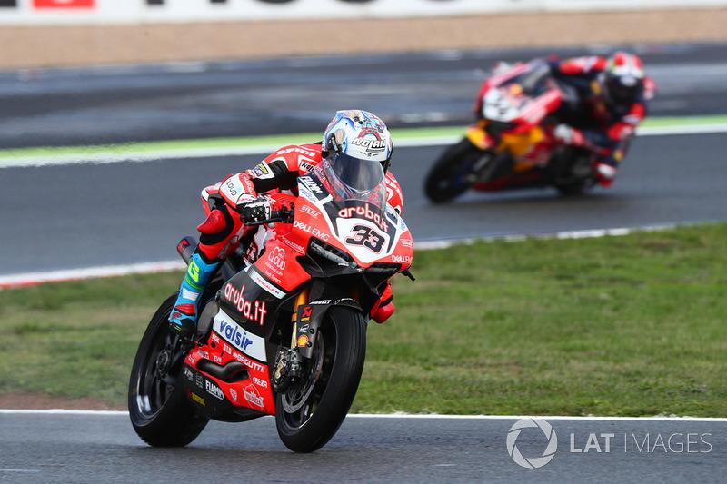 Marco Melandri, Ducati Team, Davide Giugliano