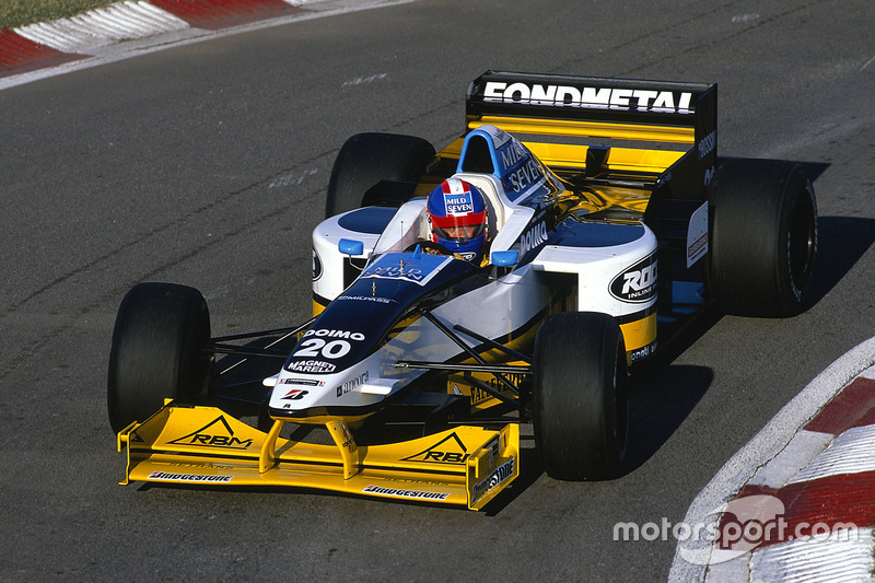 #20: Ukyo Katayama, Minardi M197