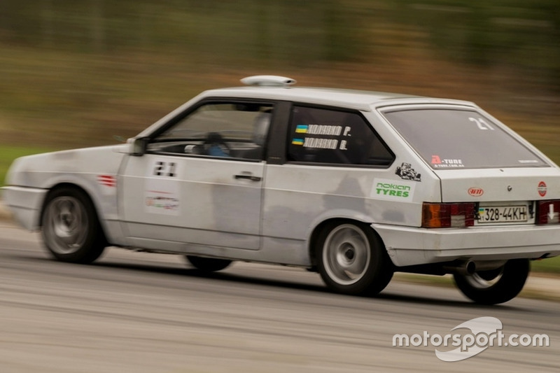 Руслан Холявко - гонка 1