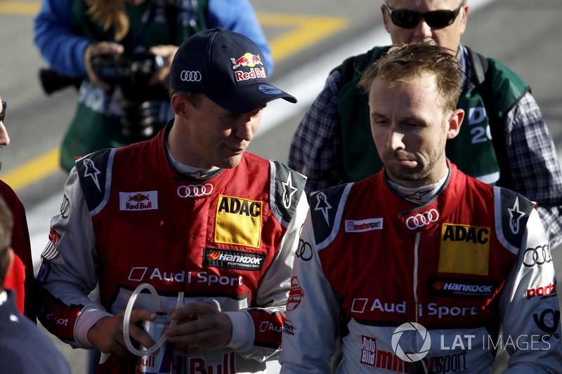 Mattias Ekström und Rene Rast