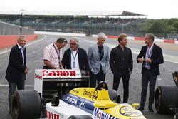 Riccardo Patrese, Nigel Mansell, Keke Rosberg, Damon Hill, Nico Rosberg, David Coulthard