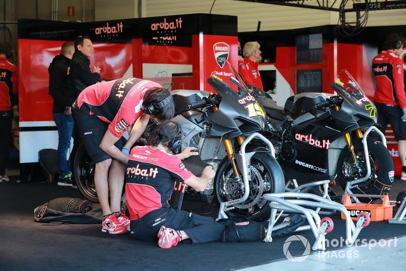 La moto d'Álvaro Bautista (Aruba.it Racing-Ducati SBK Team)