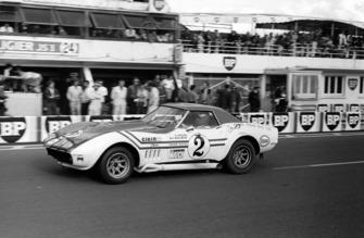 Henri Greder, Marie-Claude Beaumont, Greder Racing Chevrolet Corvette Stingray