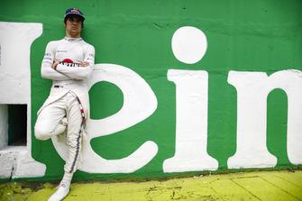 Lance Stroll, Williams Racing, in griglia di partenza