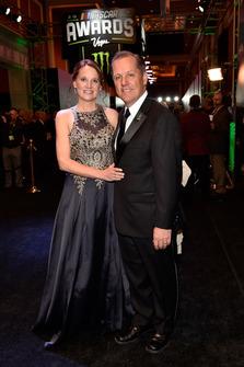 Todd Gordon, Team Penske con la moglie Amy