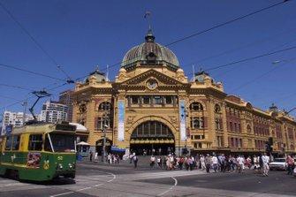 Станция Flinders Street в Мельбурне