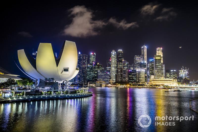 Singapour depuis la Marina Bay