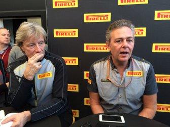Mario Isola, Pirelli Sporting Director, Roberto Boccafogli, Pirelli f1.