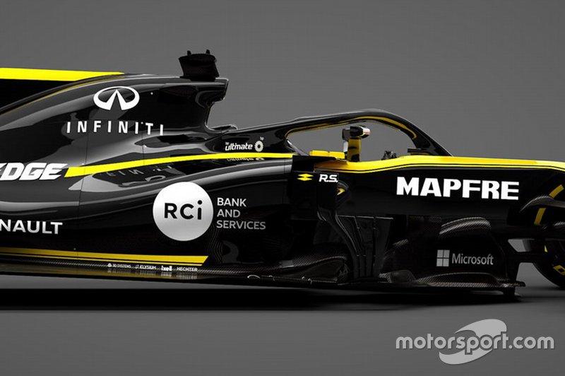 Автомобиль Renault F1 Team R.S.19