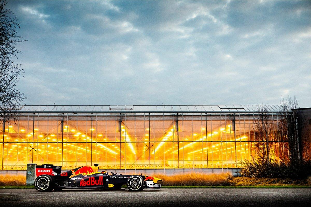 Viaggio in auto Red Bull Dutch