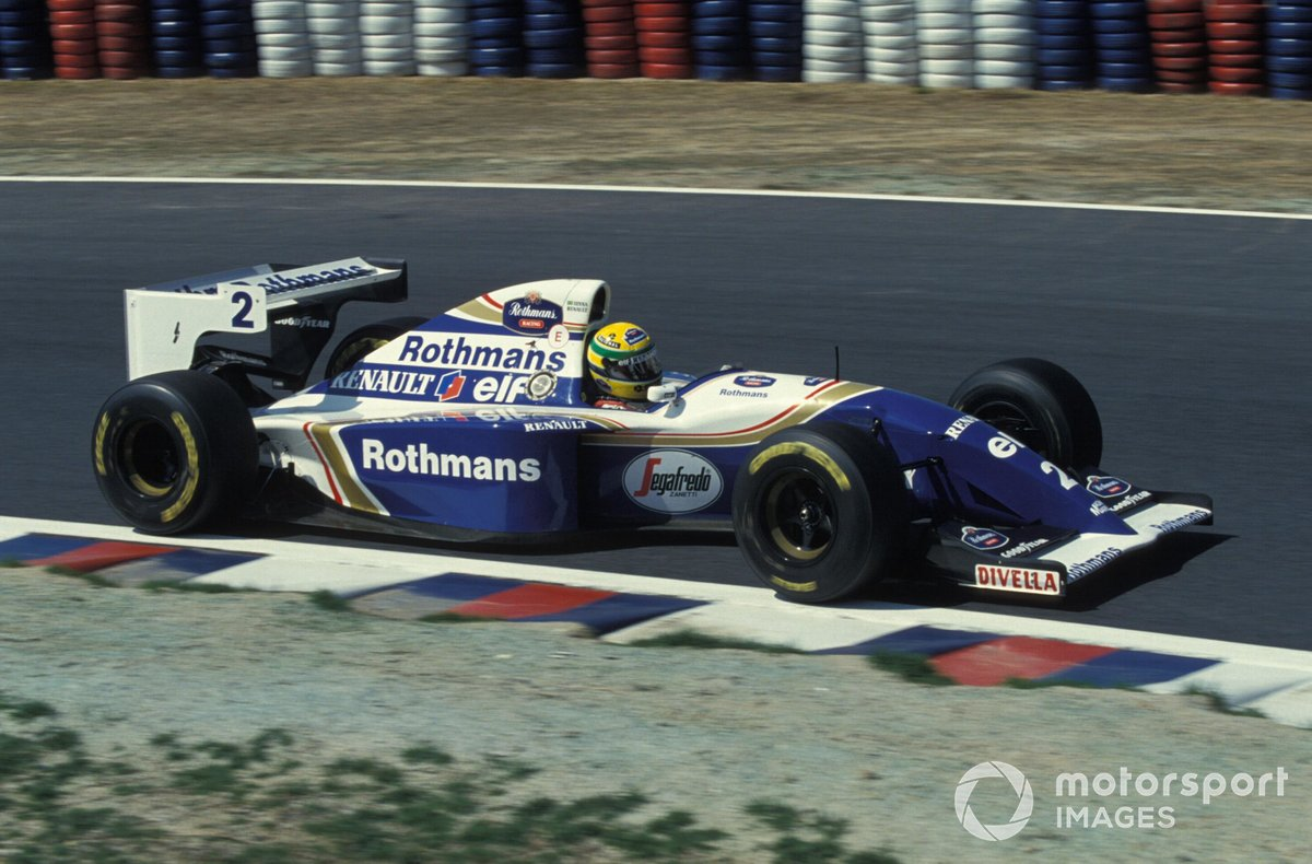 Ayrton Senna, Williams FW16 Renault