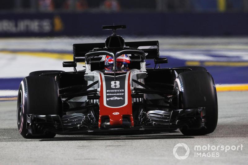 15. Romain Grosjean, Haas F1 Team VF-18