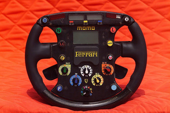 Ferrari F2001 steering wheel
