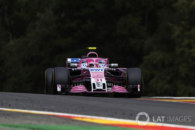 6e : Esteban Ocon (Racing Point Force India)