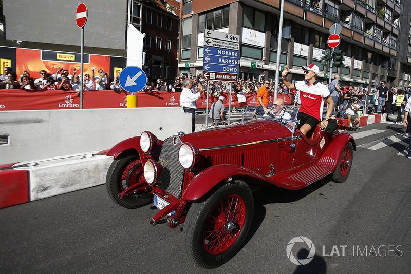 Marcus Ericsson, Sauber su un'Alfa Romeo Storica