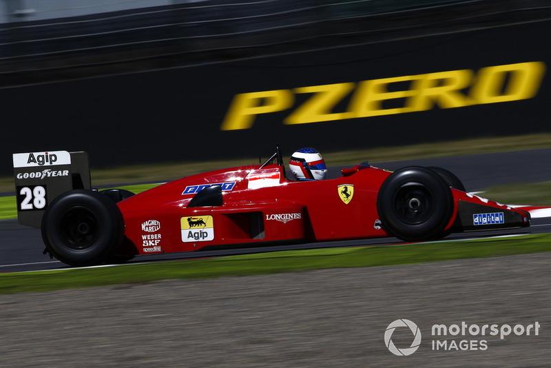 Жан Алези, Ferrari F1/87/88C, демонстрационные заезды Legends F1 30th Anniversary