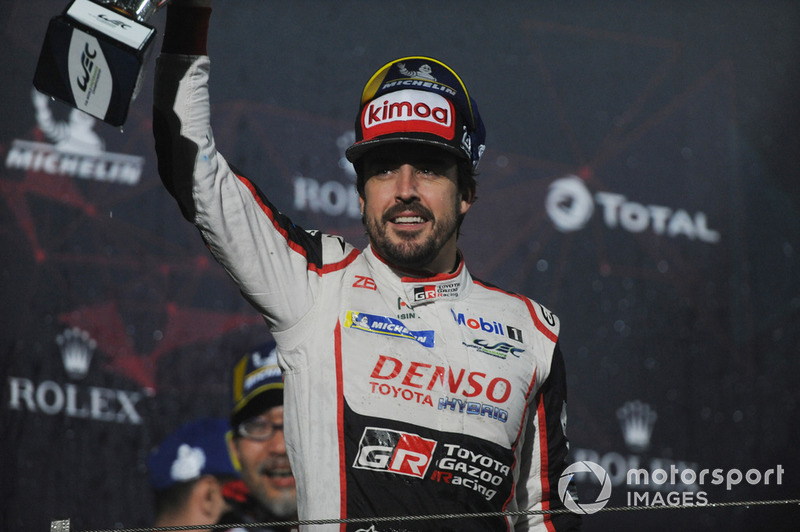 Gazoo Racing's Fernando Alonso