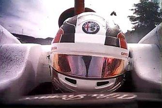 Charles Leclerc's, Sauber, Fernando Alonso, McLaren MCL33 crash