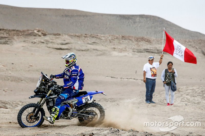 #25 Yamalube Yamaha Official Rally Team: Родні Фаготтер