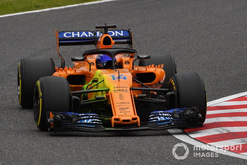 Prueba con pintura del McLaren MCL33