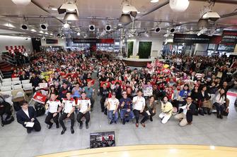 ホンダのウエルカムプラザで行われたファンミーティング