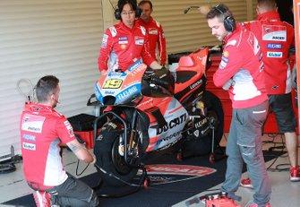 Bike von Alvaro Bautista, Ducati Test Team