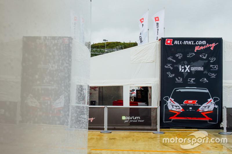 All-Inkl Motorsport tent