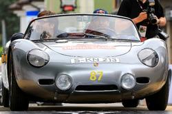 Mark Webber und Stefan Anker, Porsche RS 60 Spyder Bj. 1960