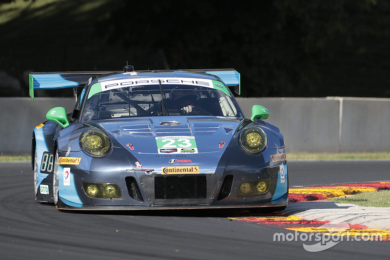 #23 Team Seattle/Alex Job Racing Porsche GT3 R: Mario Farnbacher, Alex Riberas