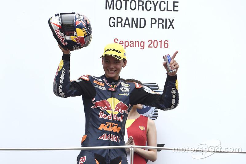 Bo Bendsneyder: podium Moto3