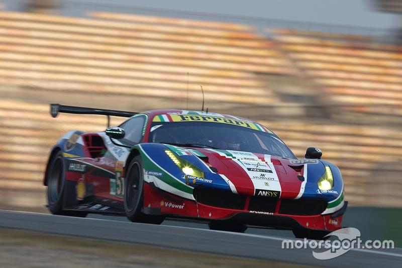 4. LMGTE-Pro: #51 AF Corse, Ferrari 488 GTE