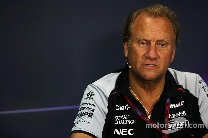 Pressekonferenz: Robert Fernley, Sahara Force India F1 Team