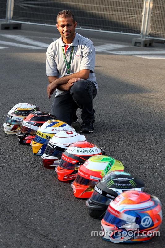 Michael Aumento, Bell-Helmtechniker