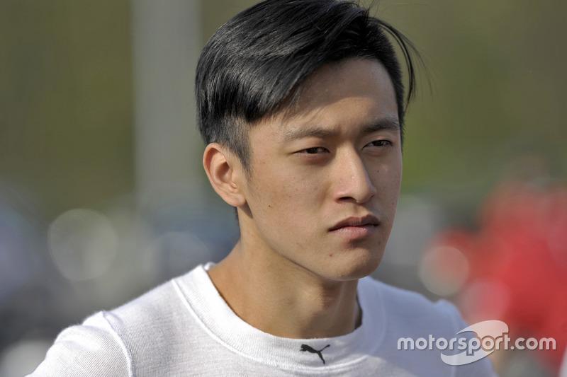 Guanyu Zhou, Motopark Dallara F312 – Volkswagen