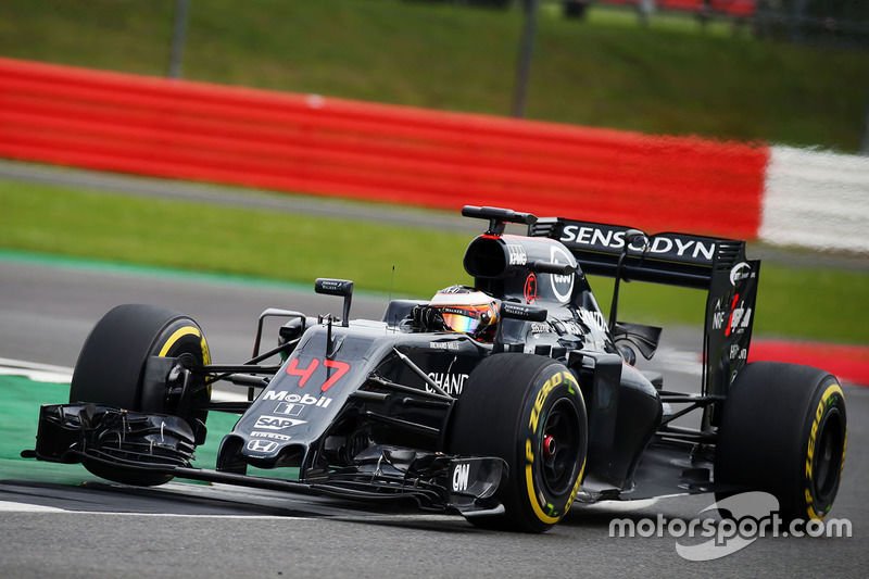 18: Stoffel Vandoorne, McLaren