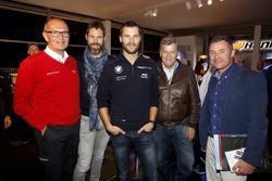 Harry Unflat, Audi Sport Team Abt Sportsline; Martin Tomczyk, BMW Team Schnitzer, BMW M4 DTM; Norbert Haug,, ARD-TV ; Tom Kristensen (DNK)
