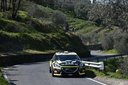 Michele Tassone e Alice de Marco, Peugeot 208 T16 R5, P.A. Racing