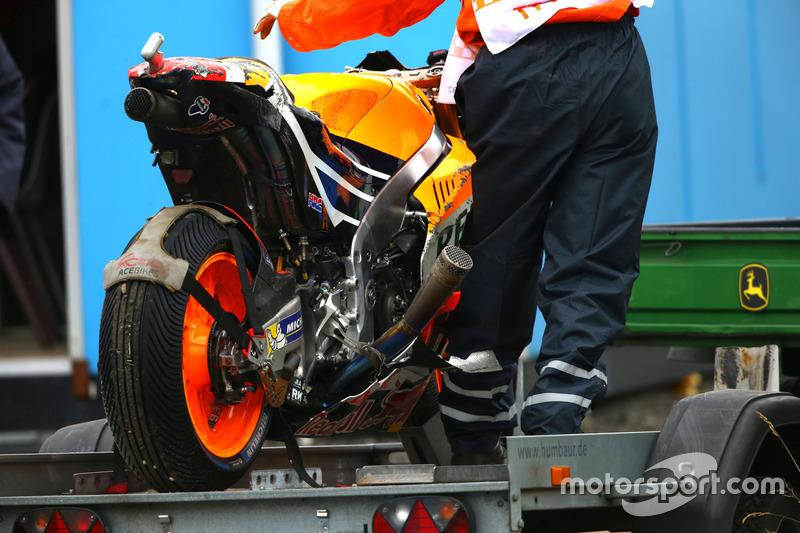 Marc Marquez, Repsol Honda Team kaza