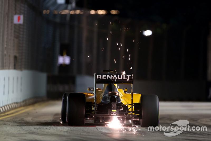 F1, Singapur 2016: Kevin Magnussen, Renault RS16