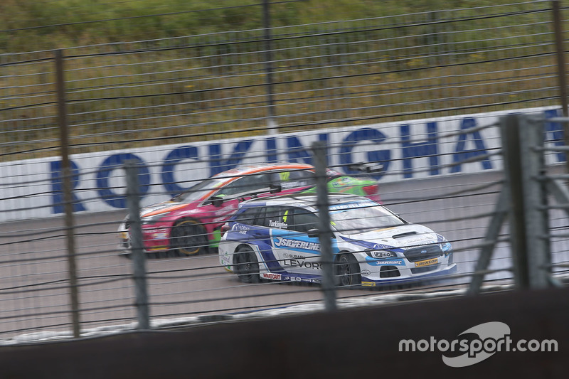 Colin Turkington, Silverline Subaru BMR Racing spin atıyor