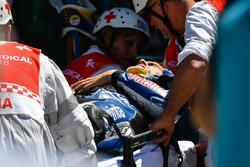 Loris Baz, Avintia Racing después del choque