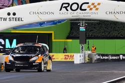 Tony Kanaan driving the RX Supercar Lite