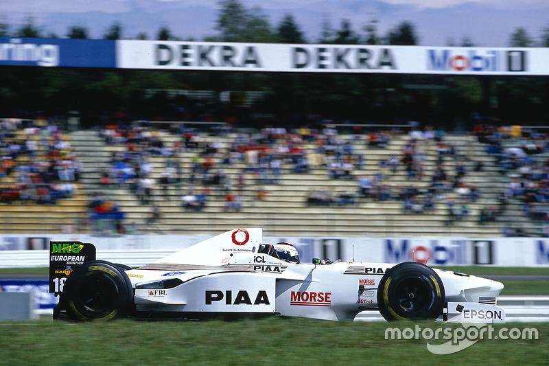 Jos Verstappen, Tyrrell 025