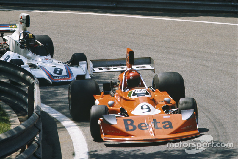 Vittorio Brambilla, March 751 Ford ve Carlos Pace, Brabham BT44B Ford