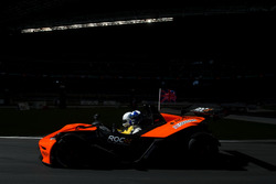 David Coulthard, driving the KTM X-Bow Comp R