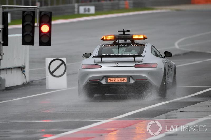 Mas o TL1 teve a chuva atrapalhando o início da jornada. A sessão perdeu 30 minutos, um terço do tempo total.